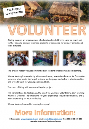 Searching for a Volunteer